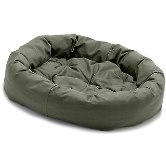 Dog Gone Smart Donut Bed Olive 107cm