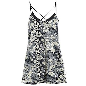 Floral Cross Back Playsuit
