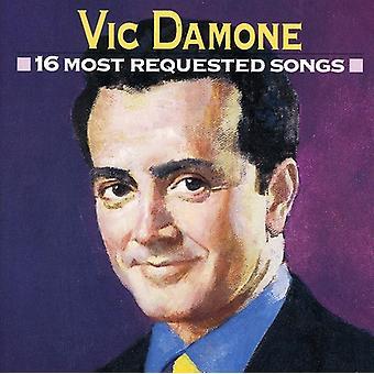 Vic Damone - 16 importaciones de Estados Unidos más solicitado canciones [CD]