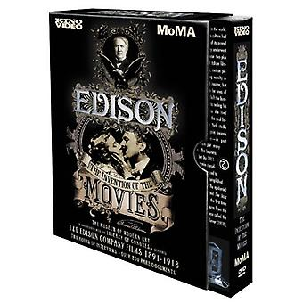 Edison-opfindelsen af film [DVD] USA importerer