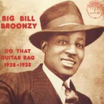 Big Bill Broonzy - importerer at Guitar Rag 1928-35 [CD] USA