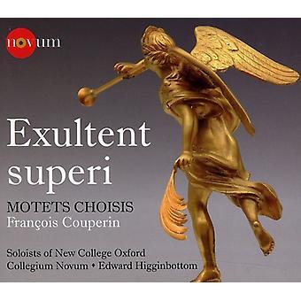 F. Couperin - Couperin: Exultent overlegen; Motetter Choisis [CD] USA importerer