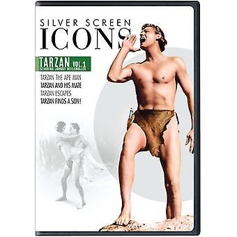 Sølv skærmen ikoner: Johnny Weissmuller Tarzan 1 [DVD] USA importerer