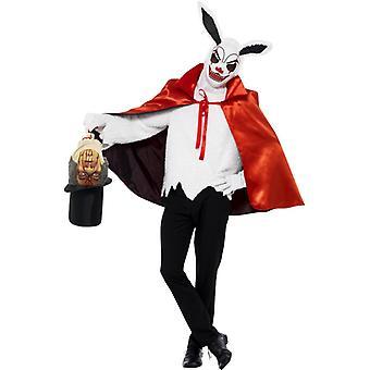 Horror Hase Zauberer Magier Kostüm Hasenkostüm Halloween