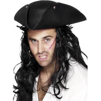 Pirate hat Silverwing Piraat kapitein piraat pirate Hat