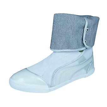 Puma Sugie Suede Womens Boots / Shoes - Silver