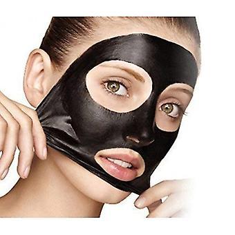 Ansigts maske sort, ansigt Apeel udrensning maske Deep Cleanser hudorm Acne Remover Peel off maske + træ pensel