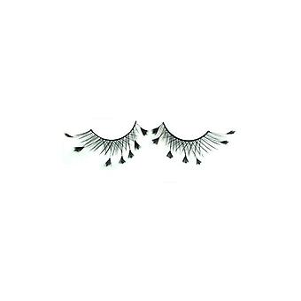 W.A.T Cross False Eyelashes With Feather Tips