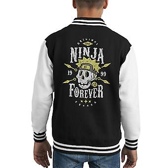 Ninja per sempre di Naruto Kid Varsity Jacket