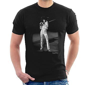Freddie Mercury Queen Manchester Palace 1974 Men's T-Shirt