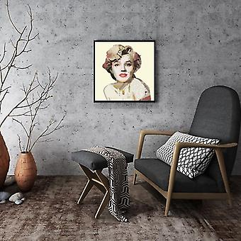 Wall pictures pictures of Marilyn Monroe art print mural painting decoration 52 x 52 cm