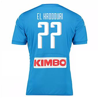 2016-17 Napoli authentiek thuis Shirt (El Kaddouri 77)