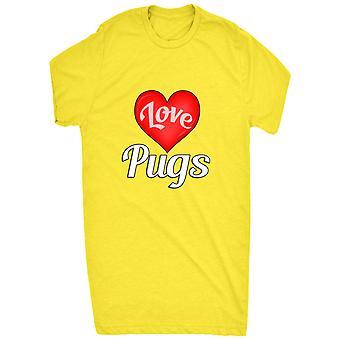 Gerenommeerde ik hou Pugs hart