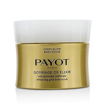 Gommage corporel élixir Payot ou Elixir améliorant gommage or - 200ml/6. 7 oz