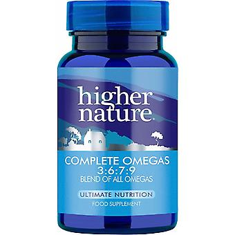 Higher Nature Premium Naturals  Complete Omegas 3:6:7:9 (formerly Essential Omegas 3:6:7:9), 240 gel caps