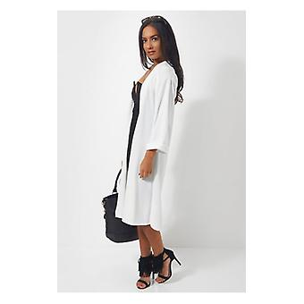 The Fashion Bible Brion White Duster Jacket