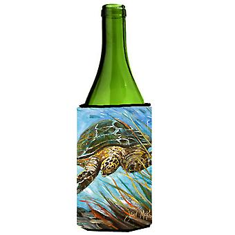 Loggerhead Sea Turtle Wine Bottle Beverage Insulator Hugger