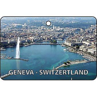 Geneva - Switzerland Car Air Freshener