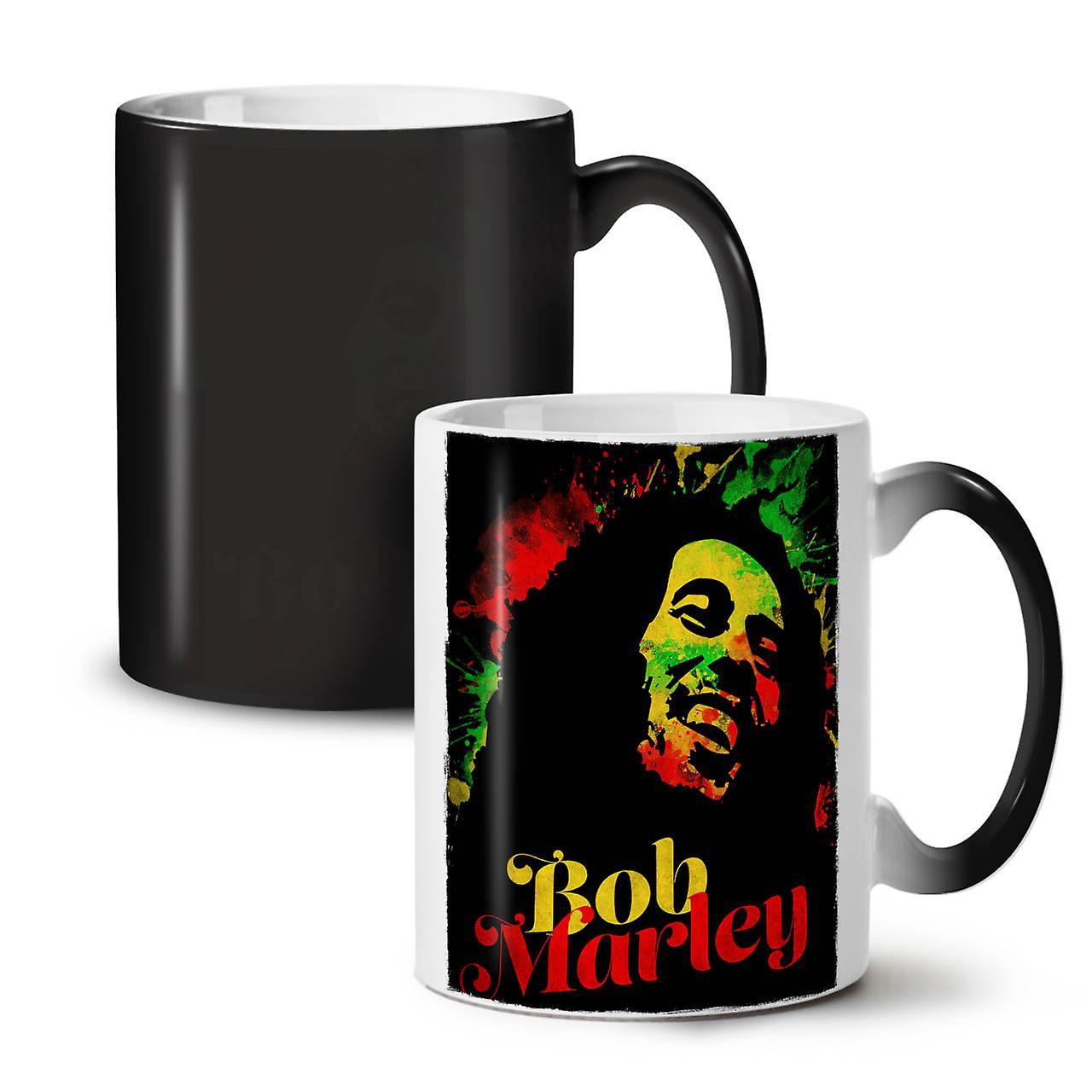 Couleur Tasse Bob OzWellcoda 11 Herbes Café Mauvaises Rasta Nouvelle Marley Changeant Céramique Thé Noir nvwmN08