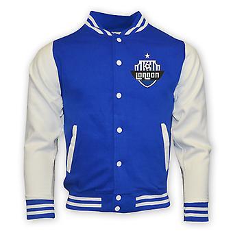 Chelsea College Baseballjacke (blau)
