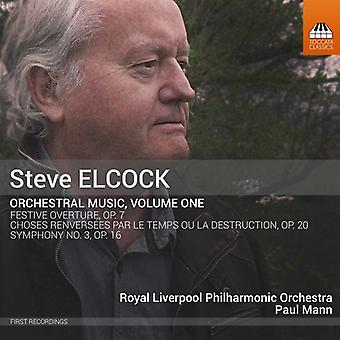 Elcock / Mann - Orchestral Music [CD] USA import