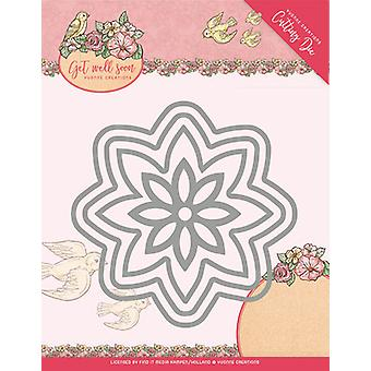 Find It Trading Yvonne Creations Get Well Soon Die-Get Well Flower YCD10104