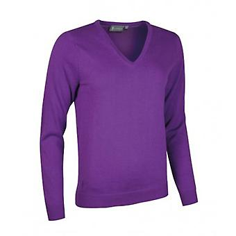 Glenmuir Womens/Ladies V Neck Cotton Sweater