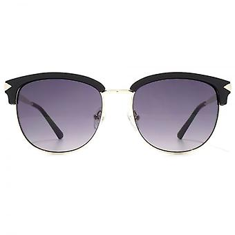 Guess Browline Style Sunglasses In Matte Black
