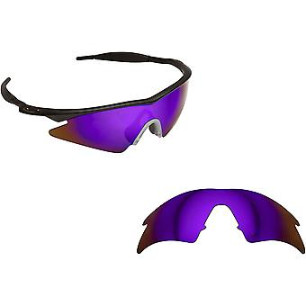 M Frame Sweep Replacement Lenses Polarized Purple by SEEK fits OAKLEY Sunglasses