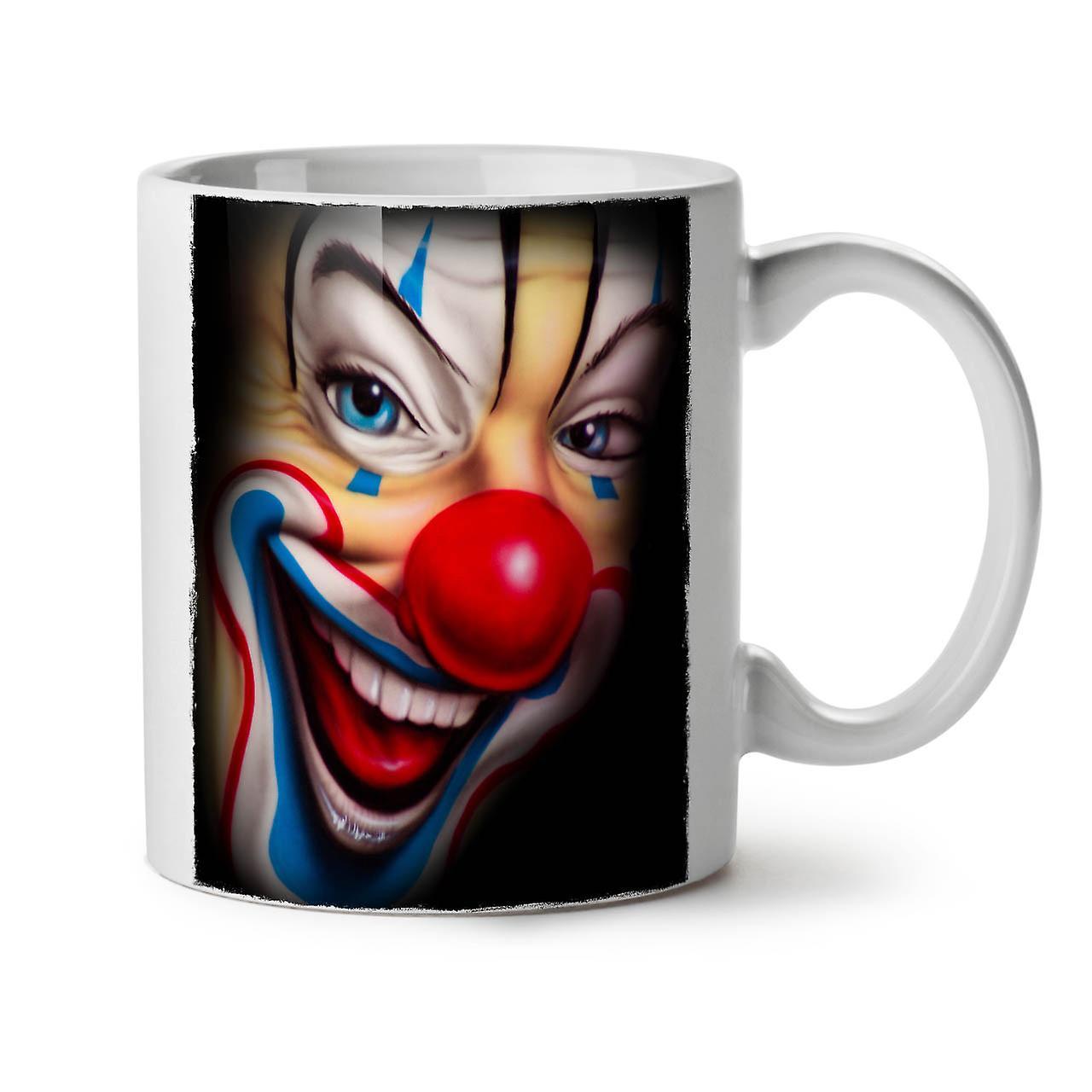Effrayant OzWellcoda Thé Céramique 11 Nouveau Café Tasse Clown Blanc UMjpGLzVqS