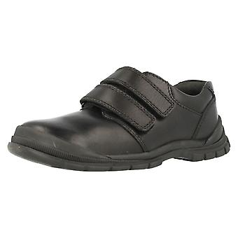 Boys Startrite Scuff Resistant School Shoes Engineer
