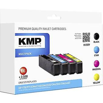 KMP Ink replaced HP CN62xAE (970/971) Compatible Set