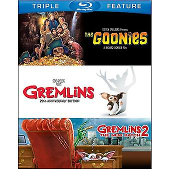 Goonies/Gremlins/Gremlins 2: Ny Batch [BLU-RAY] USA import