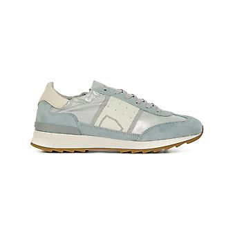 Philippe model ladies PSLDMJ02 light blue leather of sneakers