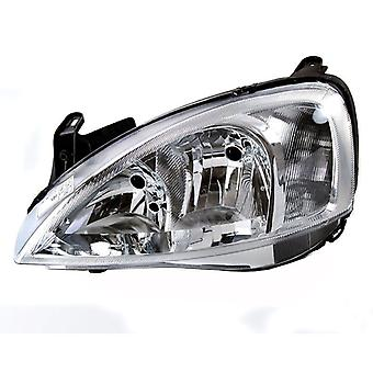 Left Headlamp for Vauxhall COMBO 2002-2006