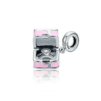 Sterling silver pendant charm Marry me SCC549