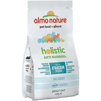 Almo nature Cat Functional Dry Antihairball Pescado y Patata (Cats , Cat Food , Dry Food)