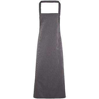 Premier Mens & Womens/Ladies Vertical Stripe Chef's Workwear Bib Apron