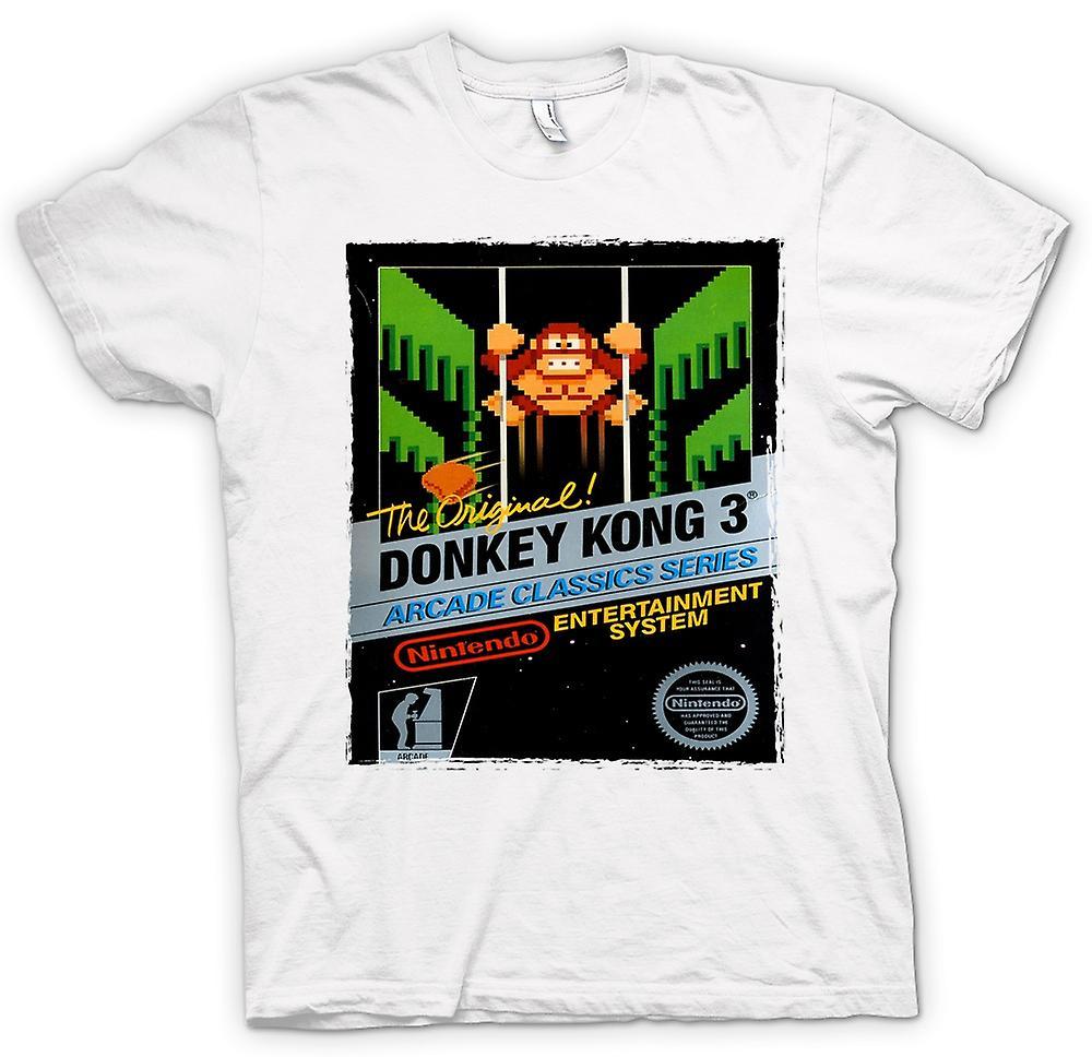 Womens T-shirt - Nintendo - Donkey Kong 3 Spieler