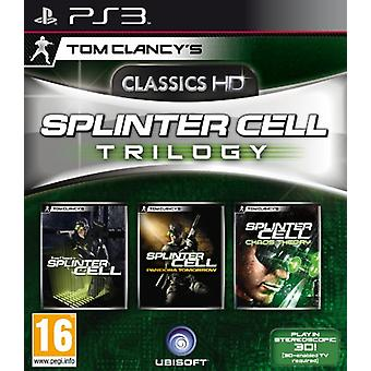 Tom Clancys Splinter Cell Trilogy (PS3)