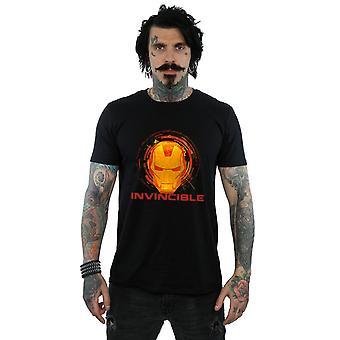 Marvel Avengers Iron Man unbesiegbar T-Shirt für Männer