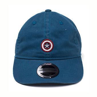 Kapten Amerika inbördeskriget Mov Cap tain Amerika pappa blå (BA058280CAP)