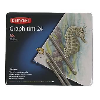 Derwent Graphitint pennor 24 Tin