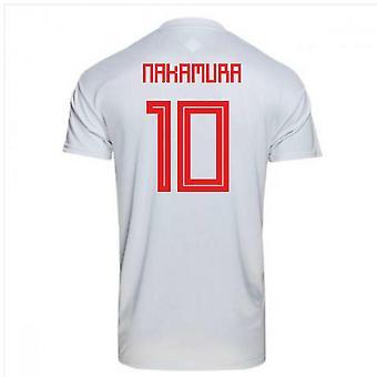 2018-2019 Japonii od Adidas piłka nożna Koszulka (Nakamura. 10)