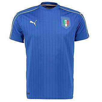 2016-2017 Italia hjem Puma fotball skjorte (barn)