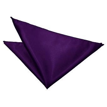 Purple Plain satijn zakdoek / Pocket Square