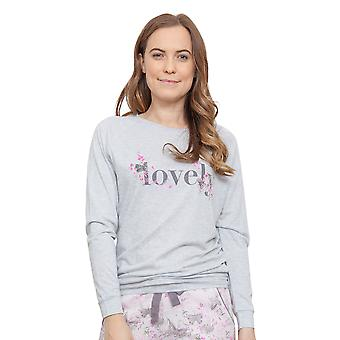 Cyberjammies 3779 Women's Sienna Grey Pajama Pyjama Top