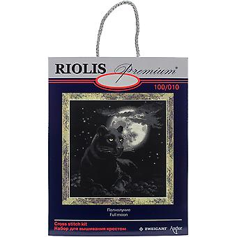 Full Moon Counted Cross Stitch Kit-19