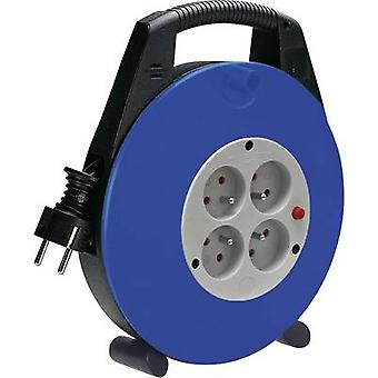 Cable reel 10 m Black France plug Brennenstuhl 110