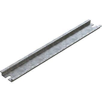 Deltron Gehäuse 4DR 3526 DIN Schiene Stahl Platte 244 mm 1 PC